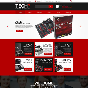 Website Template № 55543