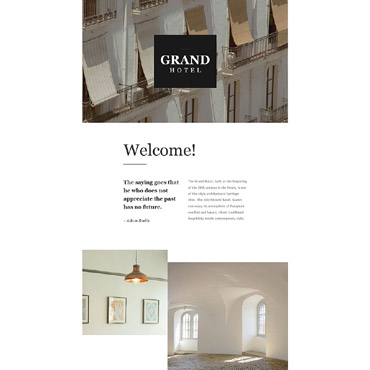 Website Template № 55545