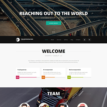 Website Template № 55556