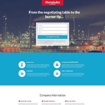 Website Template № 55575