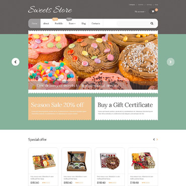 Website Template № 55592