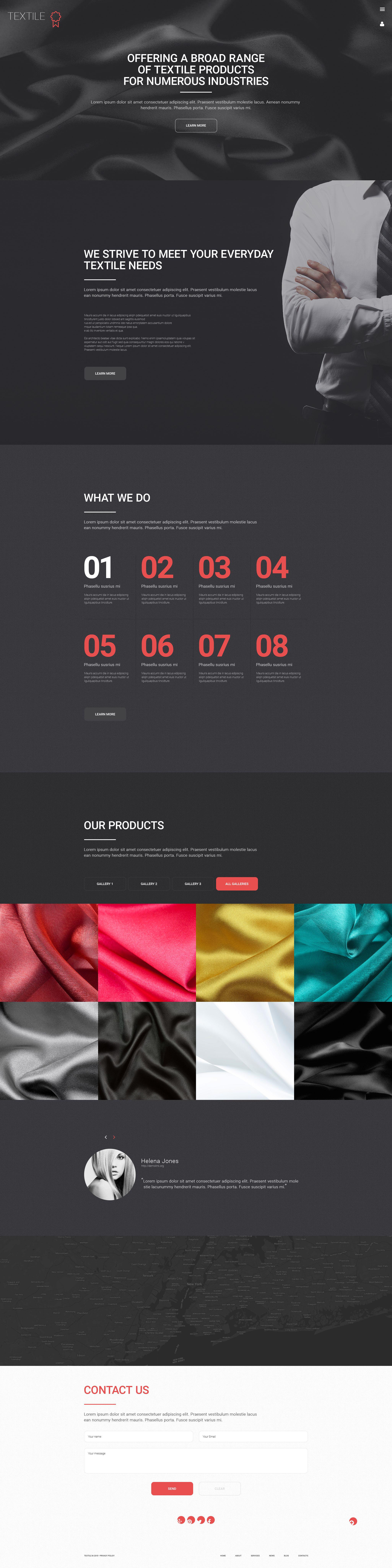 Textile WordPress Theme