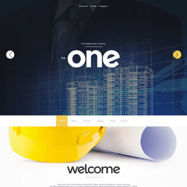Website Template № 55615