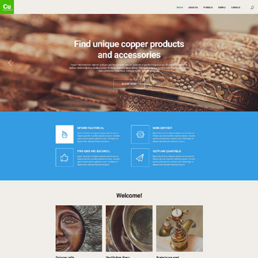 Website Template № 55624