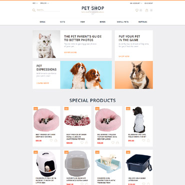 Website Template № 55687