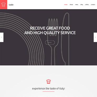 Template Mâncare și băutură WordPress #55690