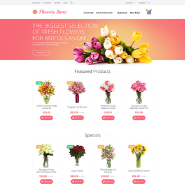 Website Template № 55697