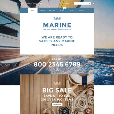 Website Template № 55730