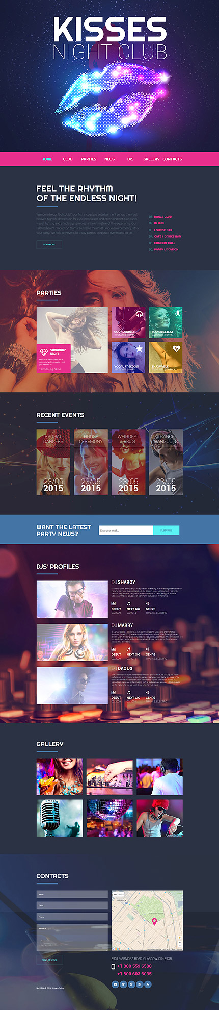 Template 55735 - Ensegna Themes