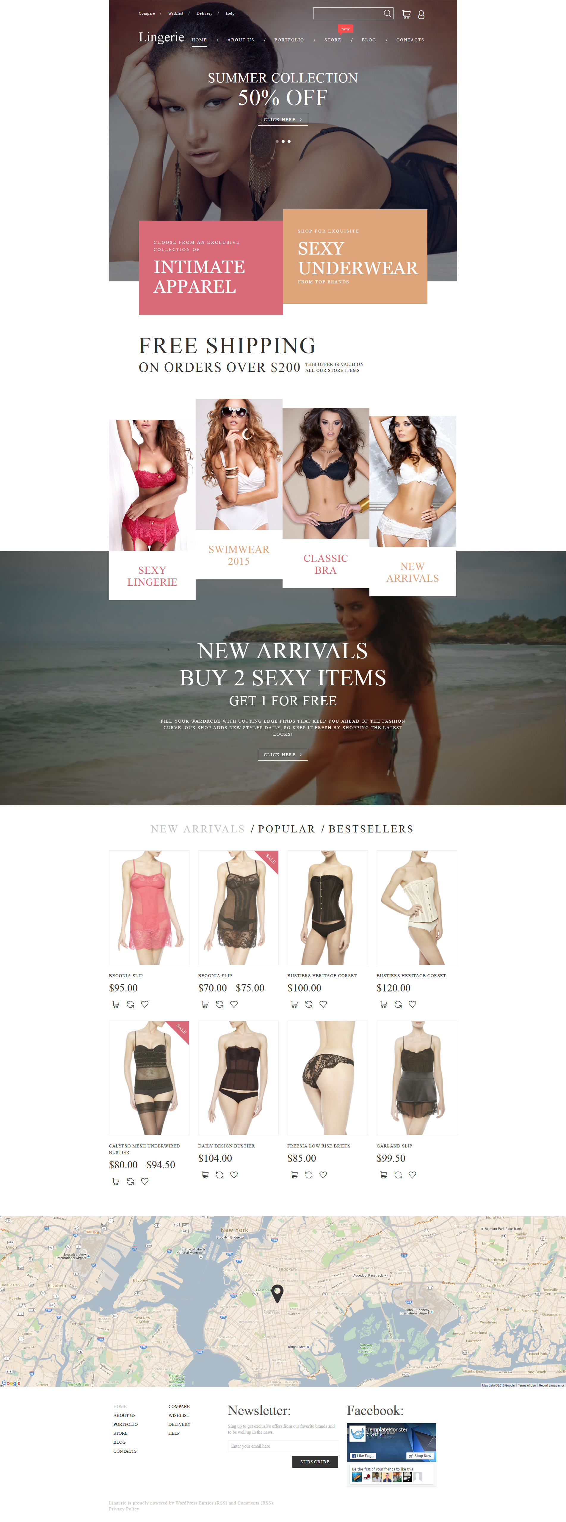 Intimate Apparel WooCommerce Theme