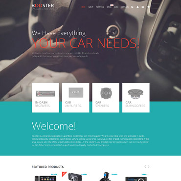 Website Template № 55744