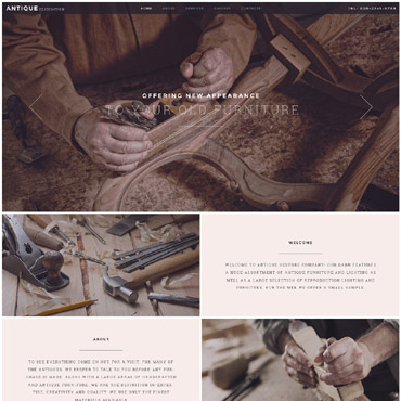 Website Template № 55749