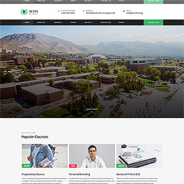 Website Template № 55755
