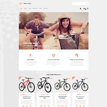 Website Template № 55762