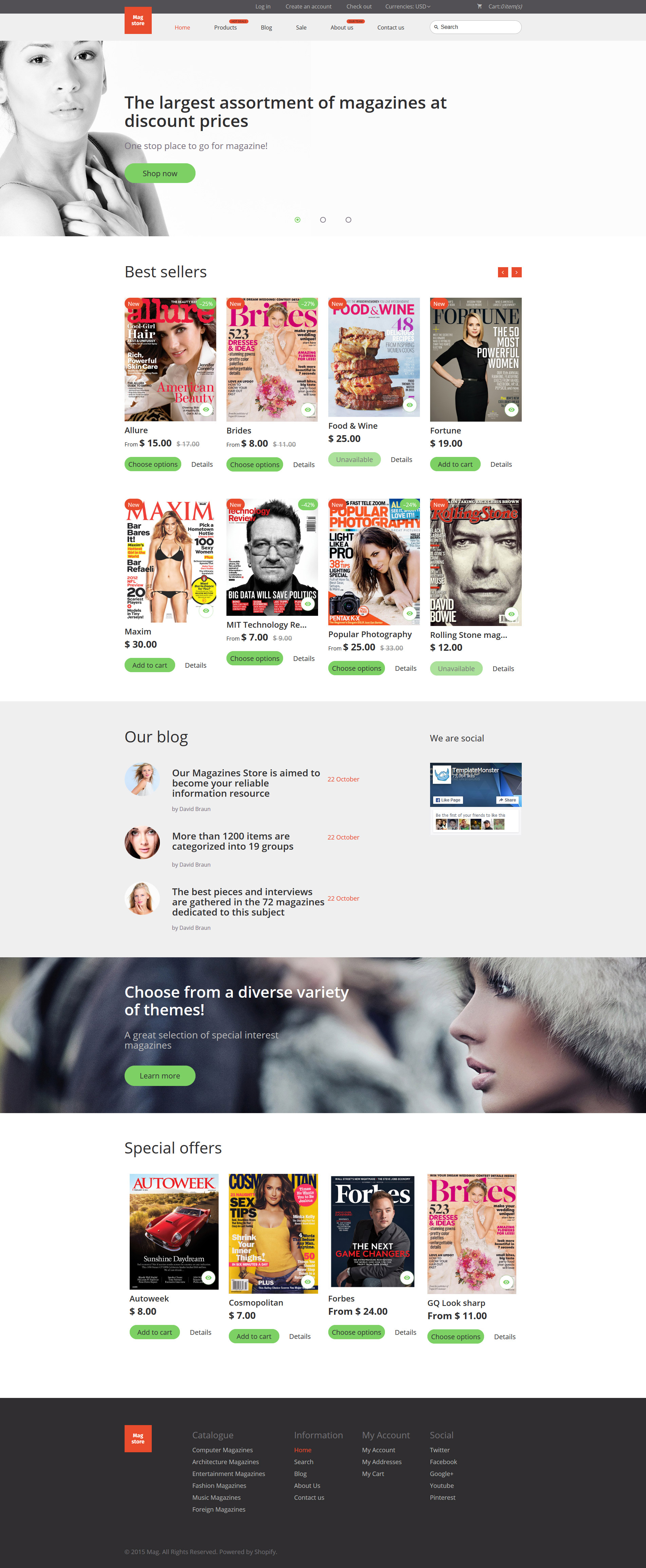 Mag Store Shopify Theme