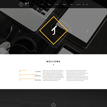 Website Template № 55821