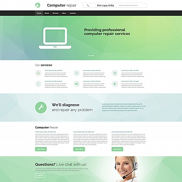 Website Template № 55845