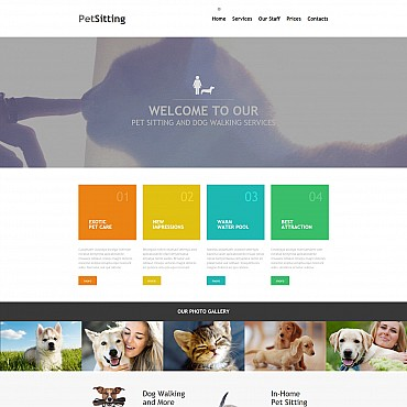 Website Template № 55852
