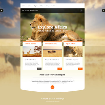 Template Animale de companie Joomla #55957