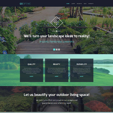 Website Template № 55960