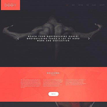 Website Template № 55985