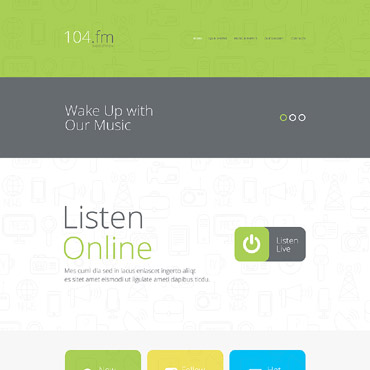 Website Template № 56027