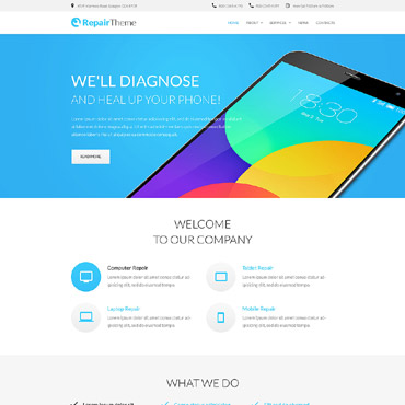 Website Template № 56040