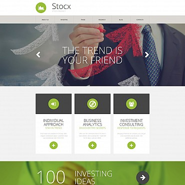 Website Template № 56053