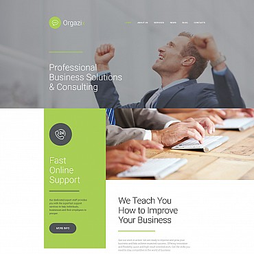 Website Template № 56056