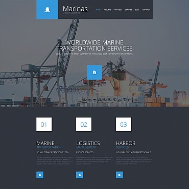 Website Template № 56057