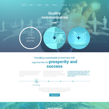 Website Template № 56091