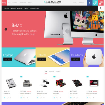 Website Template № 57539