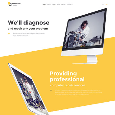 Website Template № 57562