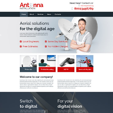 Website Template № 57625