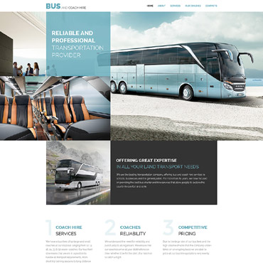 Template Transport HTML, JS şi CSS #57680