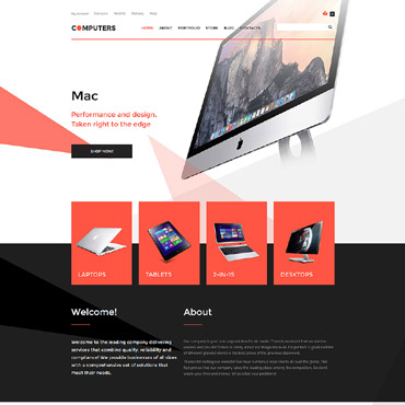 Website Template № 57763