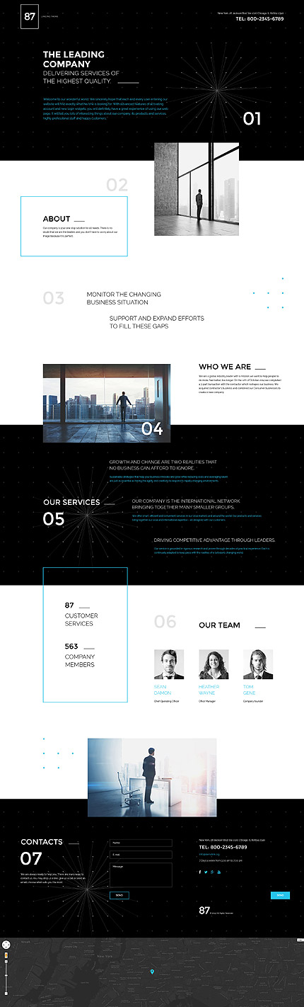 Landing Page Screenshot