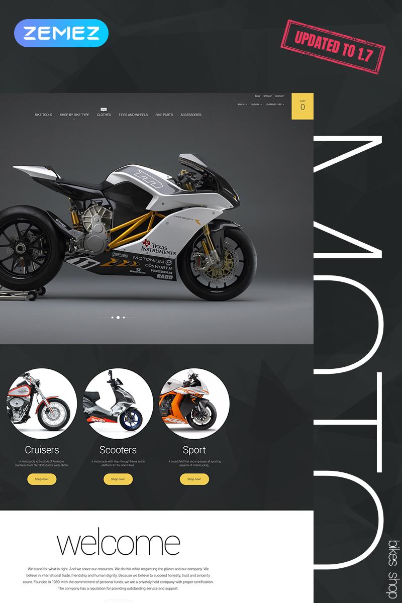 Moto PrestaShop Theme