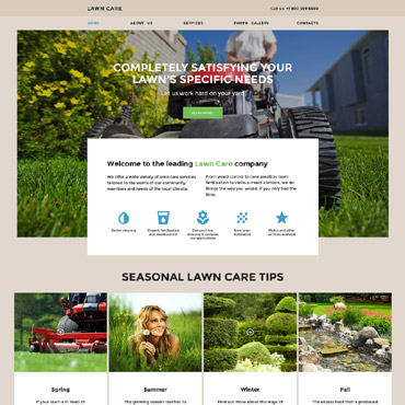 Website Template № 57855