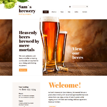 Website Template № 57870