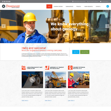 Website Template № 57893