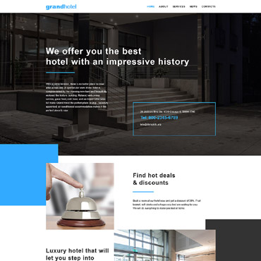 Website Template № 57907