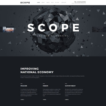 Website Template № 57913