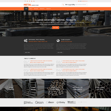 Website Template № 57917