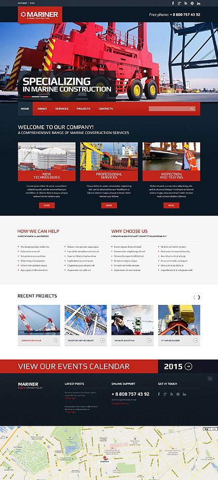 Plantilla 57954 arquitectura sitios web for Arquitectura sitio web