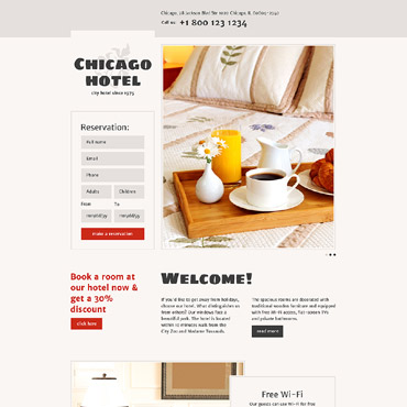 Website Template № 57995