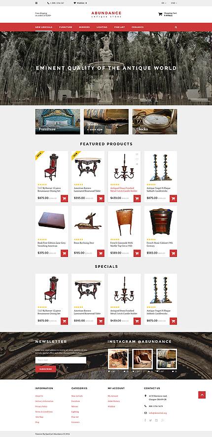 opencart template editor - template 57999