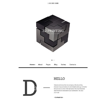 Website Template № 58031