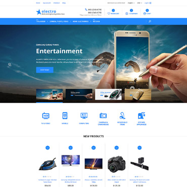 Website Template № 58050
