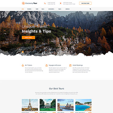 Website Template № 58204
